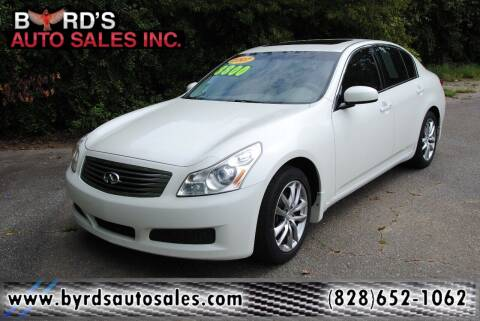 2007 Infiniti G35 for sale at Byrds Auto Sales in Marion NC
