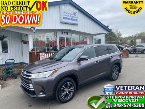 2019 Toyota Highlander for sale at North Oakland Motors in Waterford MI