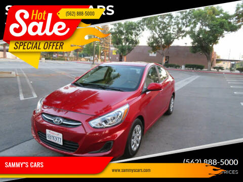 "2017 Hyundai Accent for sale at SAMMY""S CARS in Bellflower CA"