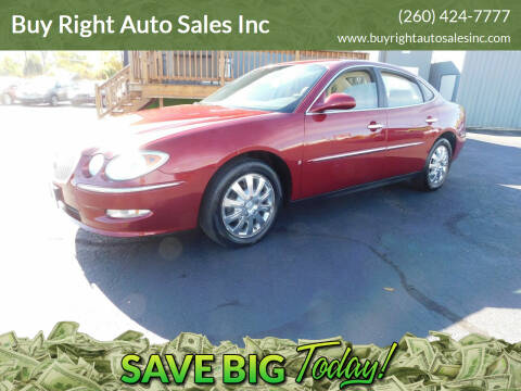 2008 Buick LaCrosse for sale at Buy Right Auto Sales Inc in Fort Wayne IN