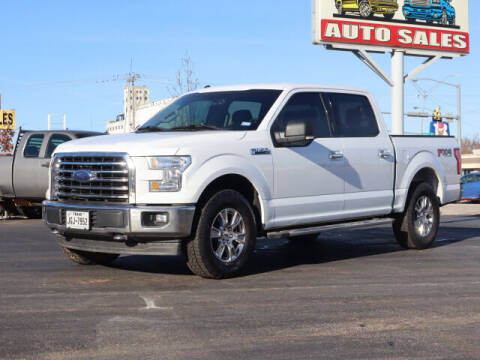 2017 Ford F-150 for sale at Terry Halbert Auto Sales in Yukon OK