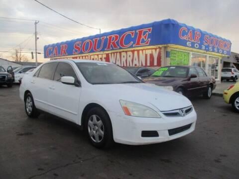 2007 Honda Accord for sale at CAR SOURCE OKC in Oklahoma City OK