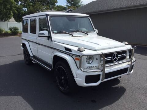 2017 Mercedes-Benz G-Class for sale at International Motor Group LLC in Hasbrouck Heights NJ