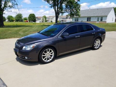 2011 Chevrolet Malibu for sale at CALDERONE CAR & TRUCK in Whiteland IN