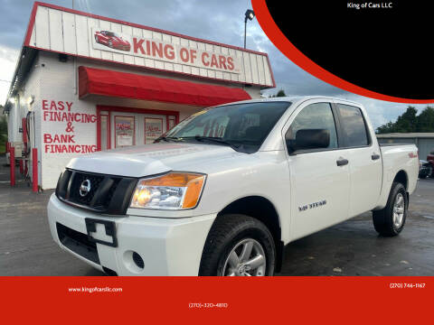 2015 Nissan Titan for sale at King of Cars LLC in Bowling Green KY