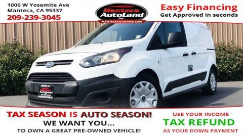 2015 Ford Transit Connect Cargo for sale at Manteca Auto Land in Manteca CA