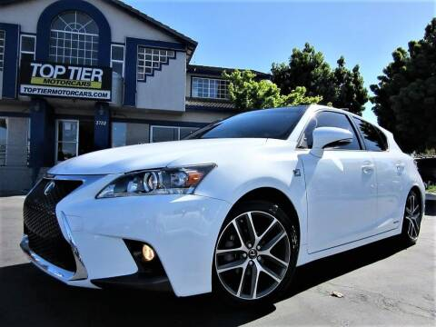 2017 Lexus CT 200h for sale at Top Tier Motorcars in San Jose CA