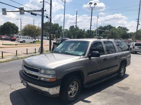 2001 Chevrolet Suburban for sale at Smart Buy Car Sales in Saint Louis MO