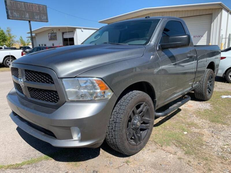 2013 RAM Ram Pickup 1500 for sale at Lumpy's Auto Sales in Oklahoma City OK