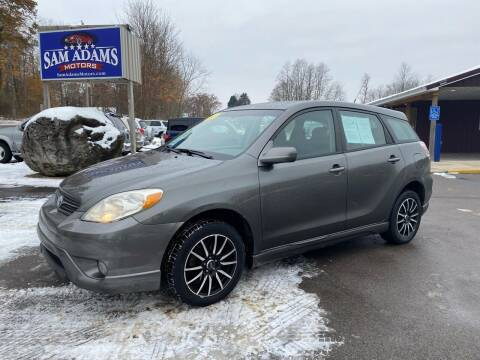 2005 Toyota Matrix for sale at Sam Adams Motors in Cedar Springs MI