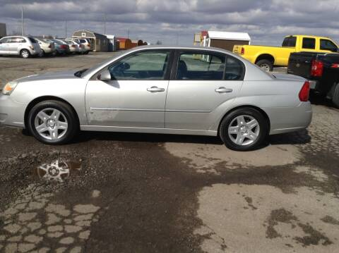 2006 Chevrolet Malibu for sale at Kevin's Motor Sales in Montpelier OH