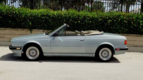 1986 Maserati Spyder for sale at Premier Luxury Cars in Oakland Park FL