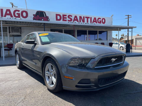 2013 Ford Mustang for sale at DESANTIAGO AUTO SALES in Yuma AZ