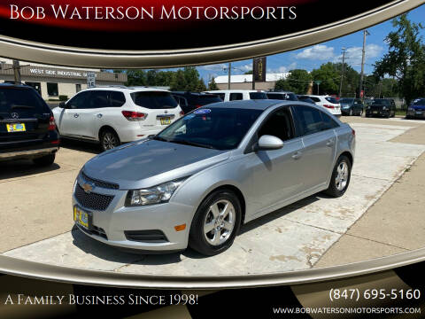 2012 Chevrolet Cruze for sale at Bob Waterson Motorsports in South Elgin IL