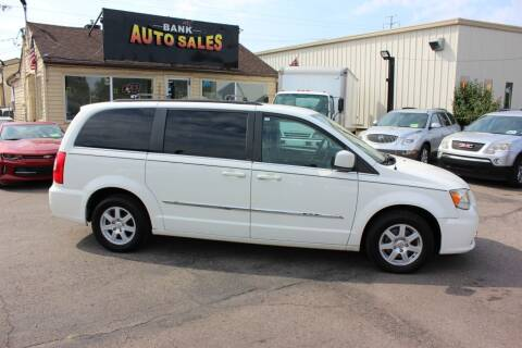 2012 Chrysler Town and Country for sale at BANK AUTO SALES in Wayne MI