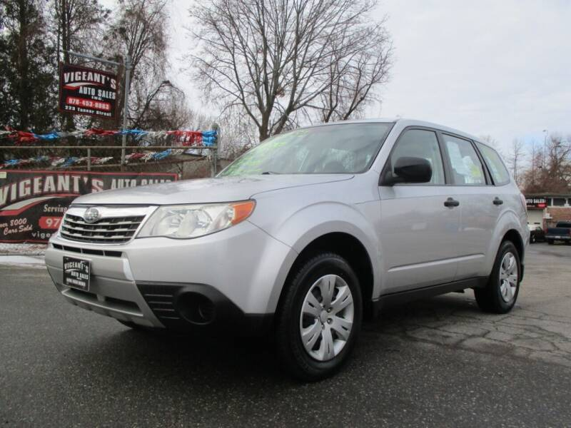 2009 Subaru Forester for sale at Vigeants Auto Sales Inc in Lowell MA