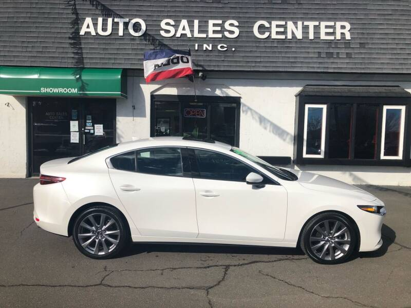 2019 Mazda Mazda3 Sedan for sale at Auto Sales Center Inc in Holyoke MA