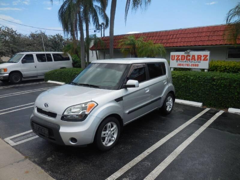 2010 Kia Soul for sale at Uzdcarz Inc. in Pompano Beach FL