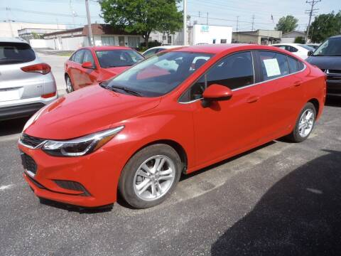 2017 Chevrolet Cruze for sale at A-Auto Luxury Motorsports in Milwaukee WI