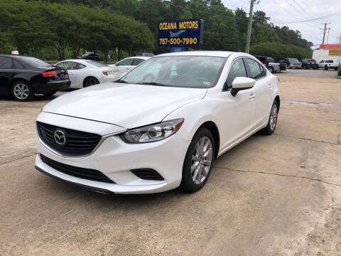 2014 Mazda MAZDA6 for sale at Oceana Motors in Virginia Beach VA