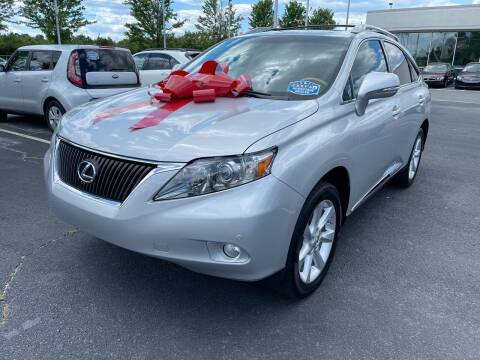 2011 Lexus RX 350 for sale at Charlotte Auto Group, Inc in Monroe NC