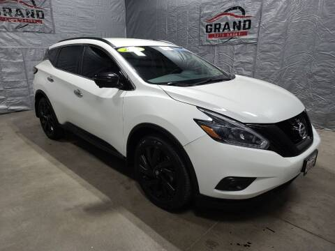 2018 Nissan Murano for sale at GRAND AUTO SALES in Grand Island NE
