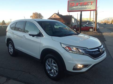 2016 Honda CR-V for sale at Sunset Auto Body in Sunset UT
