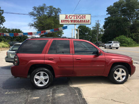 2007 Chevrolet TrailBlazer for sale at Action Auto Wholesale in Painesville OH