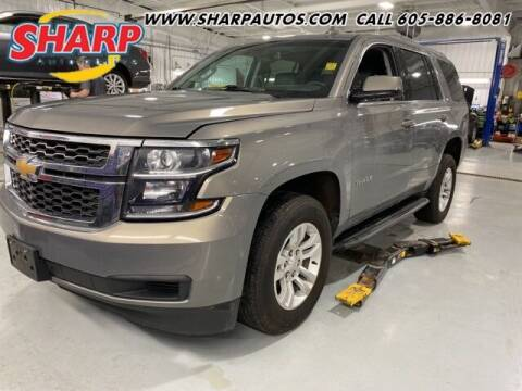 2018 Chevrolet Tahoe for sale at Sharp Automotive in Watertown SD