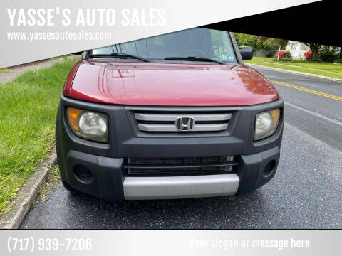 2008 Honda Element for sale at YASSE'S AUTO SALES in Steelton PA