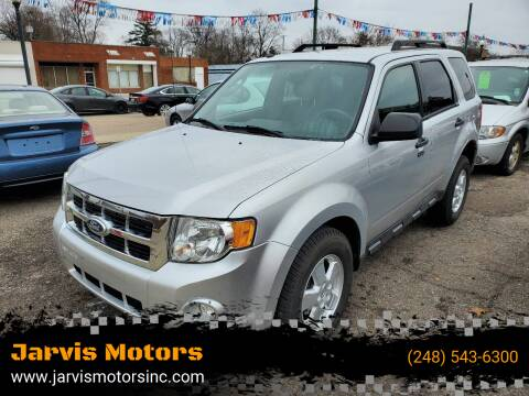 2011 Ford Escape for sale at Jarvis Motors in Hazel Park MI