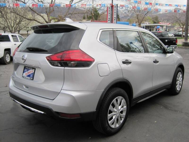 2017 Nissan Rogue S 4dr Crossover (midyear release) - Bountiful UT