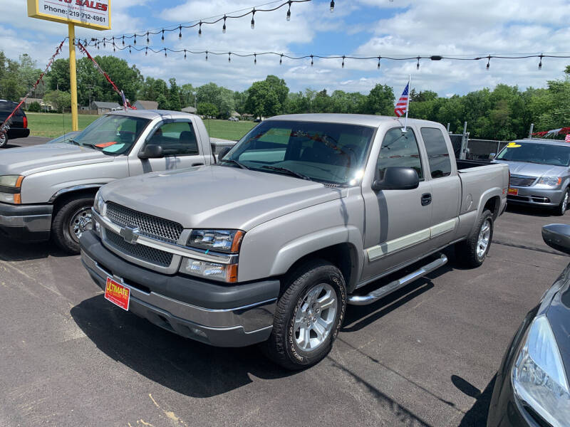 2004 Chevrolet Silverado 1500 for sale at Ultimate Auto Sales in Crown Point IN