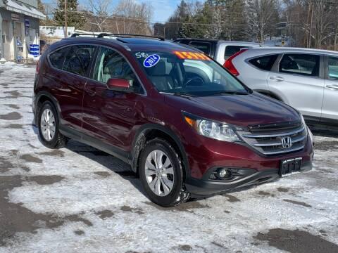 2014 Honda CR-V for sale at Saratoga Motors in Gansevoort NY