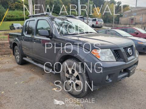 2010 Nissan Frontier for sale at Rosedale Auto Sales Incorporated in Kansas City KS