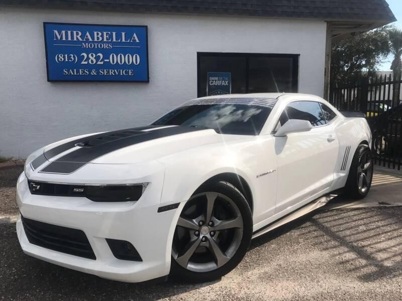 2014 Chevrolet Camaro for sale at Mirabella Motors in Tampa FL