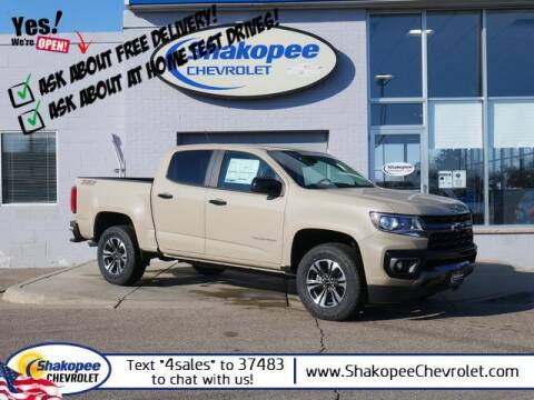 2021 Chevrolet Colorado for sale at SHAKOPEE CHEVROLET in Shakopee MN