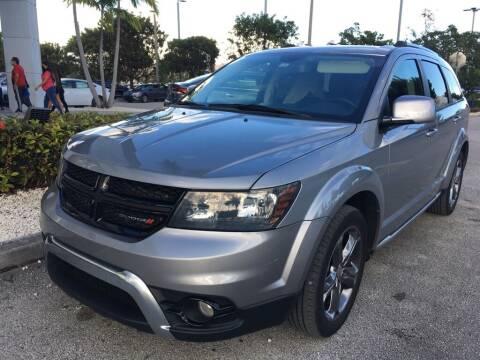 2017 Dodge Journey for sale at DORAL HYUNDAI in Doral FL