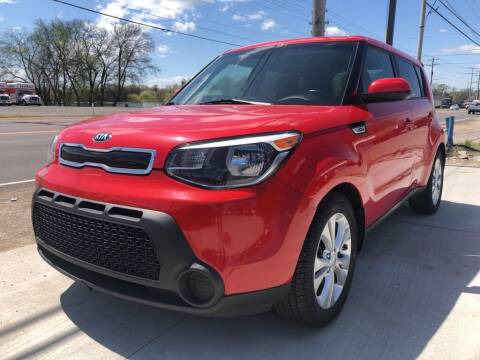 2015 Kia Soul for sale at Wolff Auto Sales in Clarksville TN