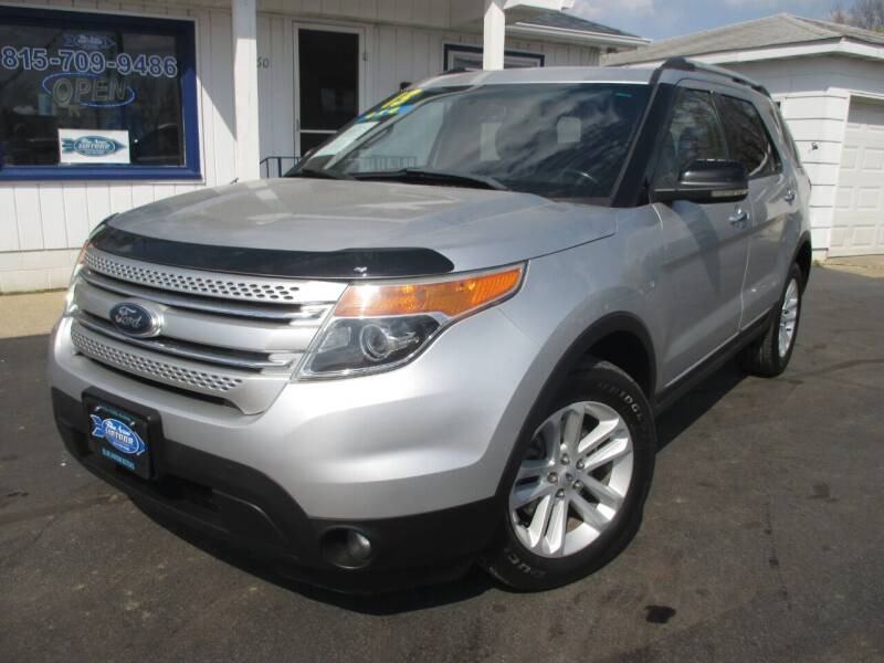 2013 Ford Explorer for sale at Blue Arrow Motors in Coal City IL