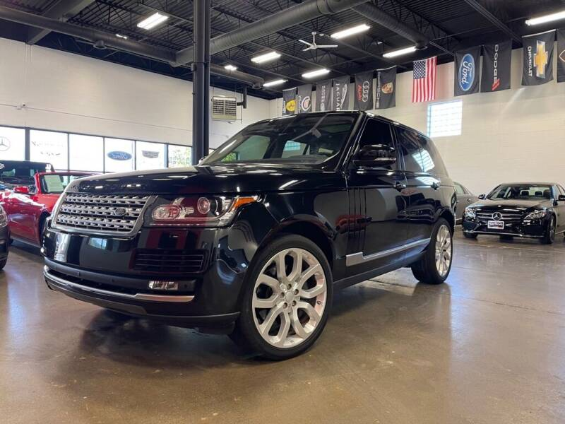 2016 Land Rover Range Rover for sale at CarNova in Sterling Heights MI