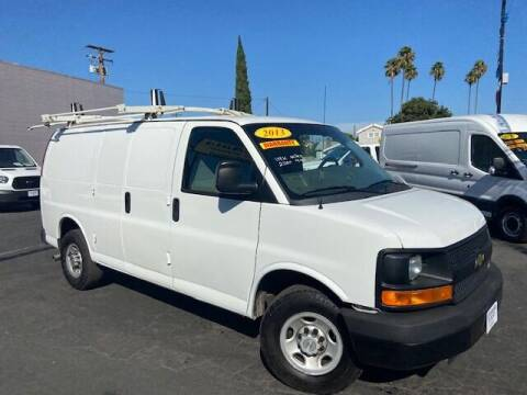 2013 Chevrolet Express Cargo for sale at Auto Wholesale Company in Santa Ana CA