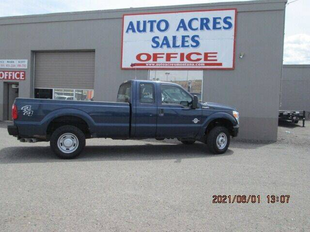 2013 Ford F-250 Super Duty for sale at Auto Acres in Billings MT