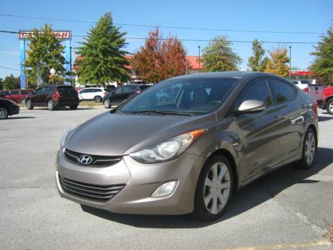 2013 Hyundai Elantra for sale at Premier Motor Co in Springdale AR