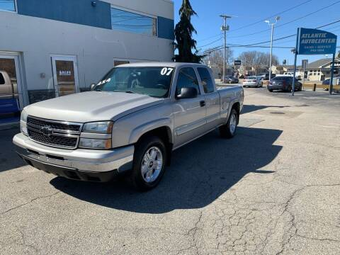 2007 Chevrolet Silverado 1500 Classic for sale at Atlantic AutoCenter in Cranston RI