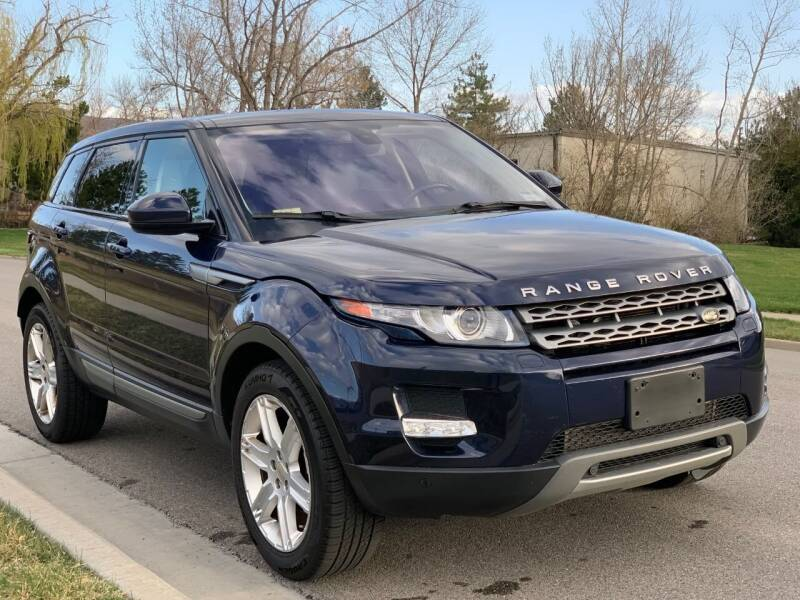 2014 Land Rover Range Rover Evoque for sale at A.I. Monroe Auto Sales in Bountiful UT