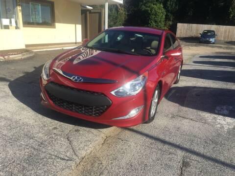 2012 Hyundai Sonata Hybrid for sale at Beach Cars in Fort Walton Beach FL