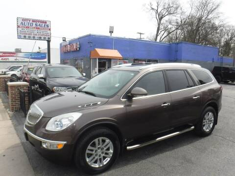 2008 Buick Enclave for sale at City Motors Auto Sale LLC in Redford MI