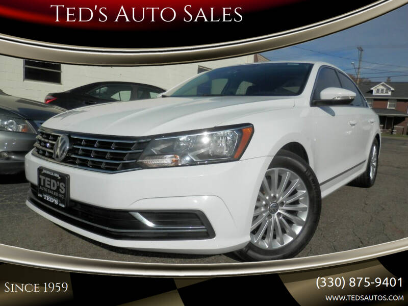 2016 Volkswagen Passat for sale at Ted's Auto Sales in Louisville OH