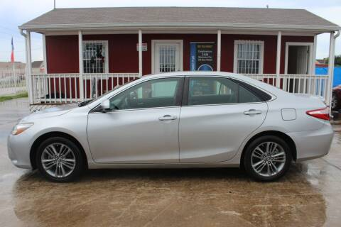 2017 Toyota Camry for sale at AMT AUTO SALES LLC in Houston TX
